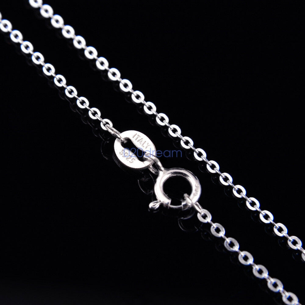 Sterling Silver 1.1mm Italian Square Snake Chain Necklace 16, 18, 20, 22, 24, 30 Inch