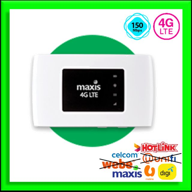 Portable Wifi Mifi - ZTE MF920W+ 4G Modem Unlock Telco