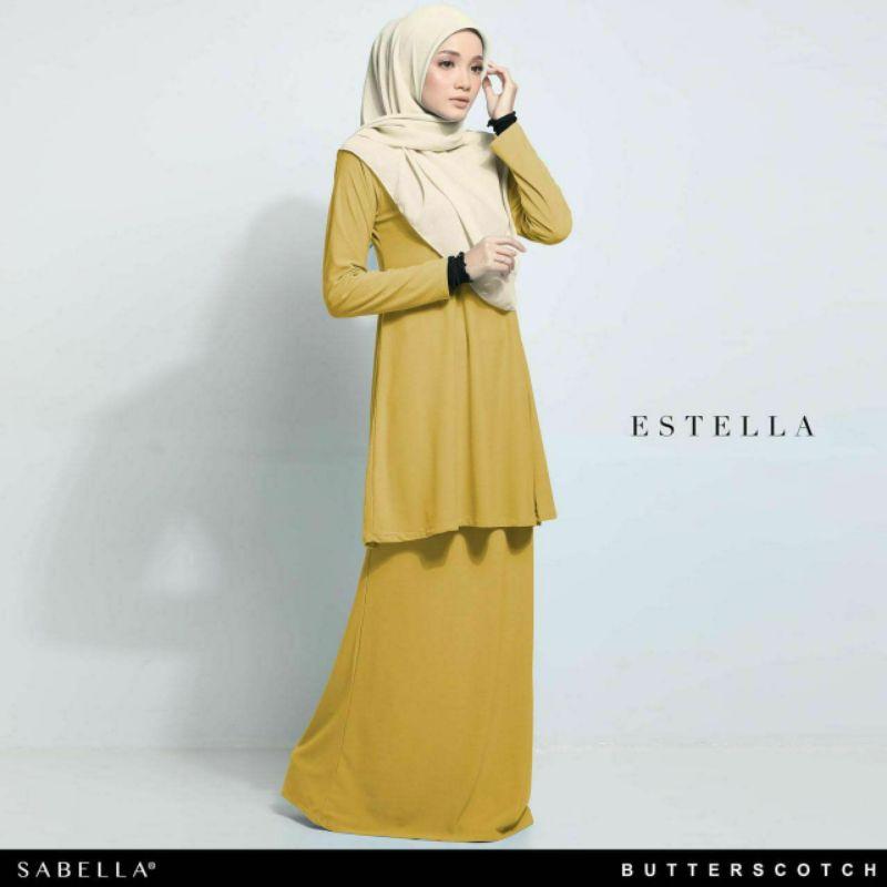 Sabella Estella Kurung  Size 2XL [Ready Stock]