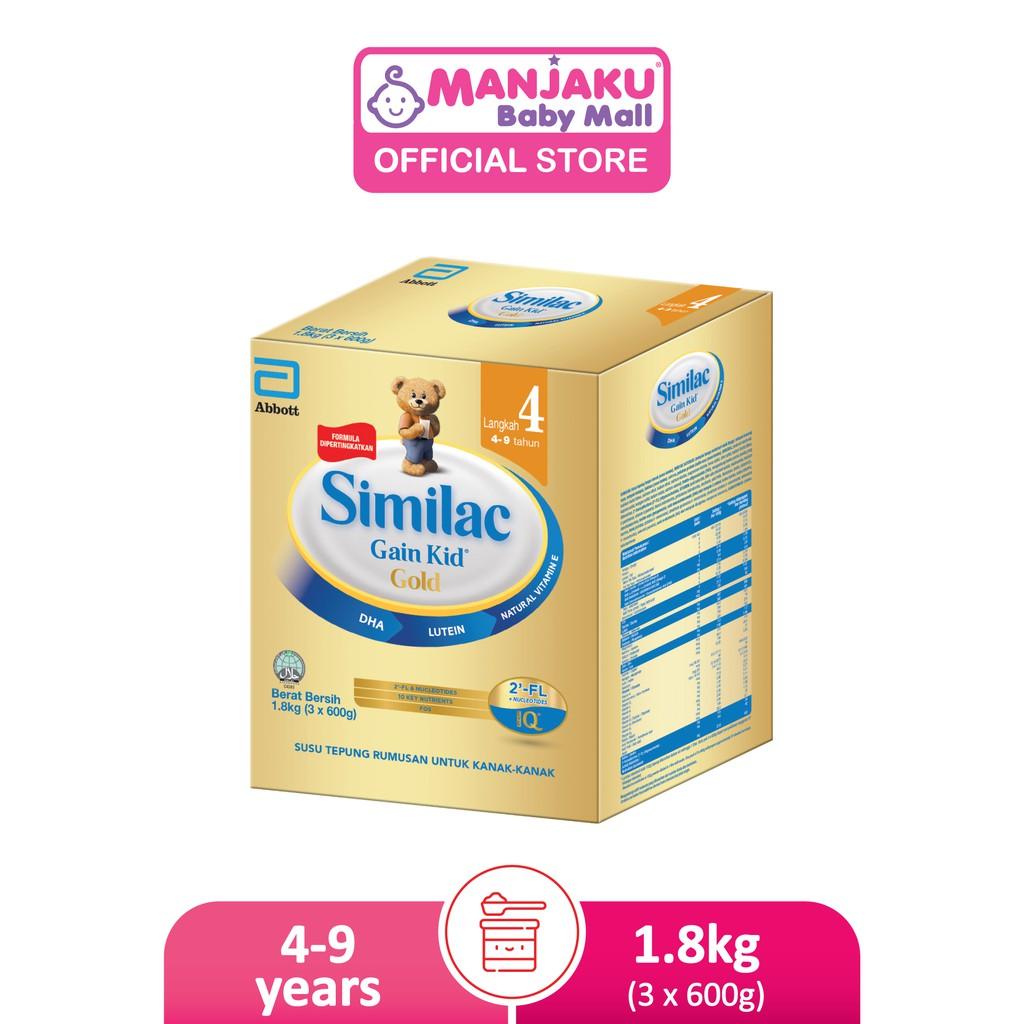 Similac Gain Kid Gold Step 4 (1.8kg)