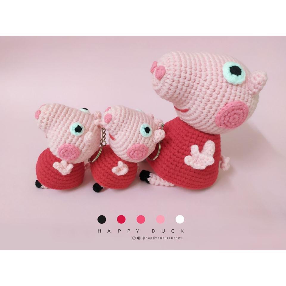 Peppa Pig - free crochet pattern - Amigurumi Today | 960x960