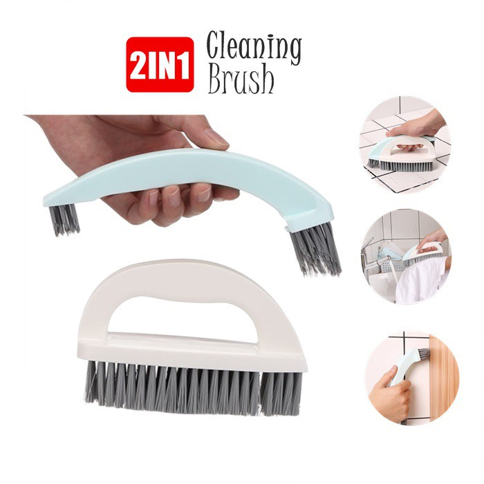 MALAYSIA: BERUS KHAS BILIK AIR/ BERUS LANTAI / Multi-purpose Brush Kitchen Bathroom Cleaning Brush