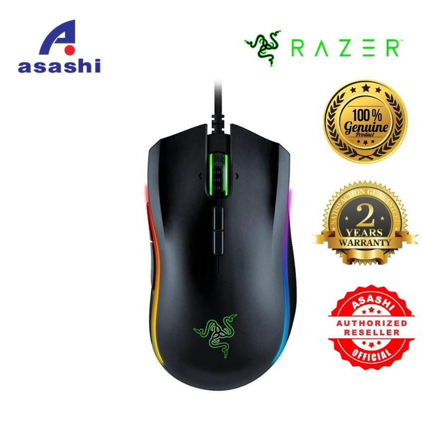 Razer Mamba Elite Gaming Mouse - (9 buttons, 16,000 DPI, 5G Optical)  RZ01-02560100-R3M1
