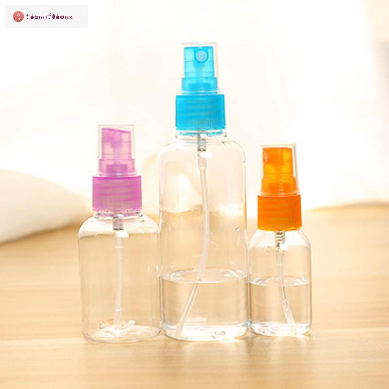 d5f421dbe9f5 TF▷ 5 Pcs/Set Mini Plastic Transparent Small Empty Spray Bottle ...