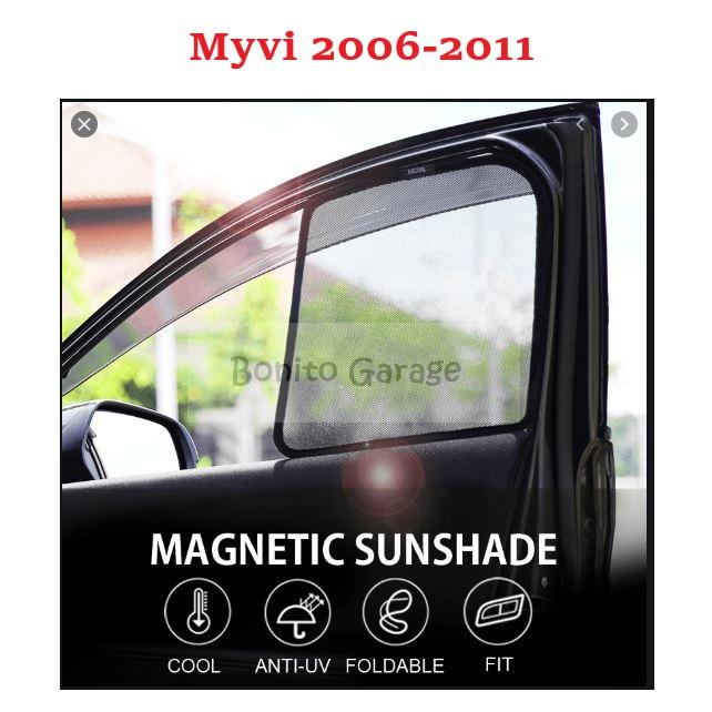 Magnetic Sunshade Myvi 2006-2011 4pcs