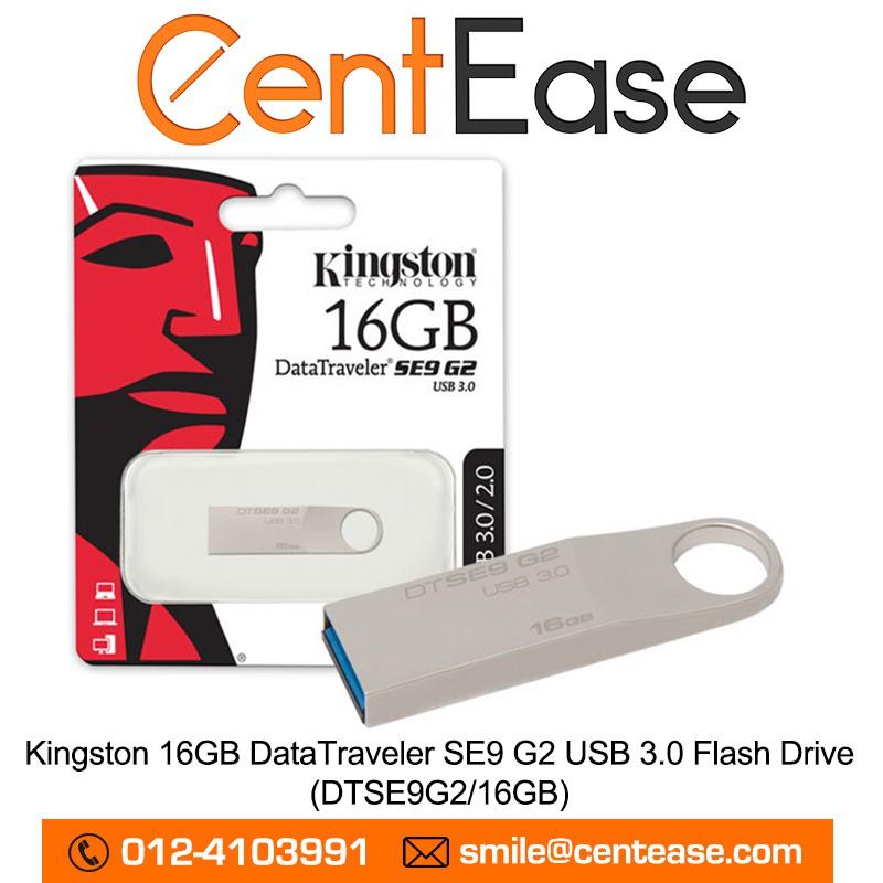Kingston 16GB DataTraveler SE9 G2 USB 3.0 Flash Drive