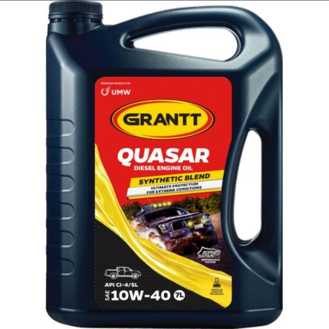 GRANTT QUASAR SAE 10W-40 (API CI-4/SL) 7L