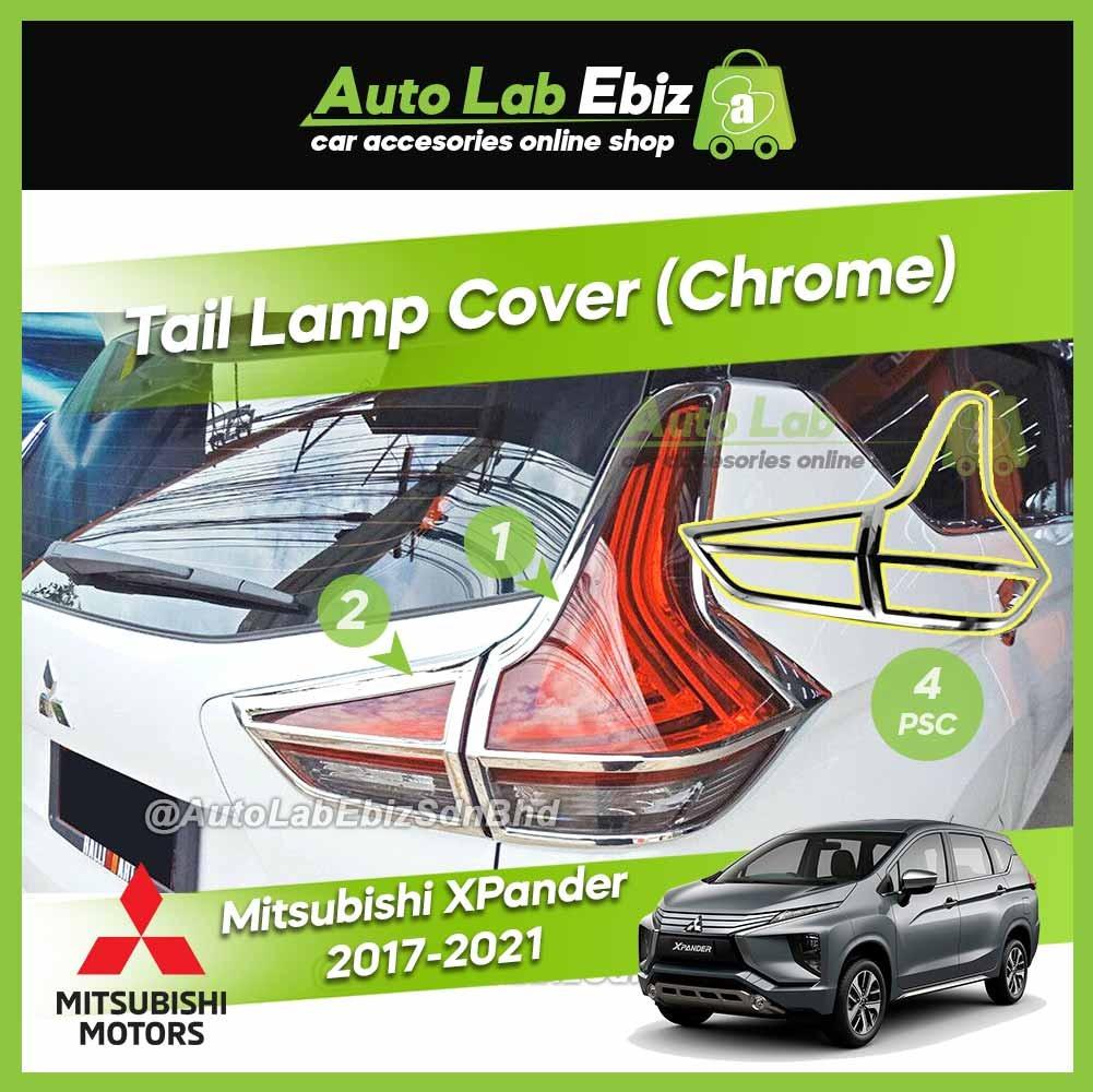 Mitsubishi XPander 2017-2021 Tail Lamp Cover (Chrome) (4pcs/set)