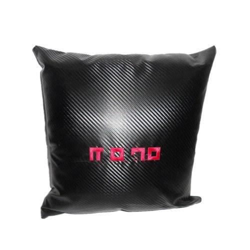 Carbon Micro-fibre Car Pillow with M logo