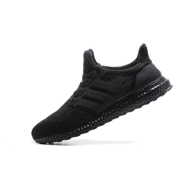 f808af9b9f1 Ready Stock Discount Adidas ultra boost men women kasut running shoes black  40 -- 45