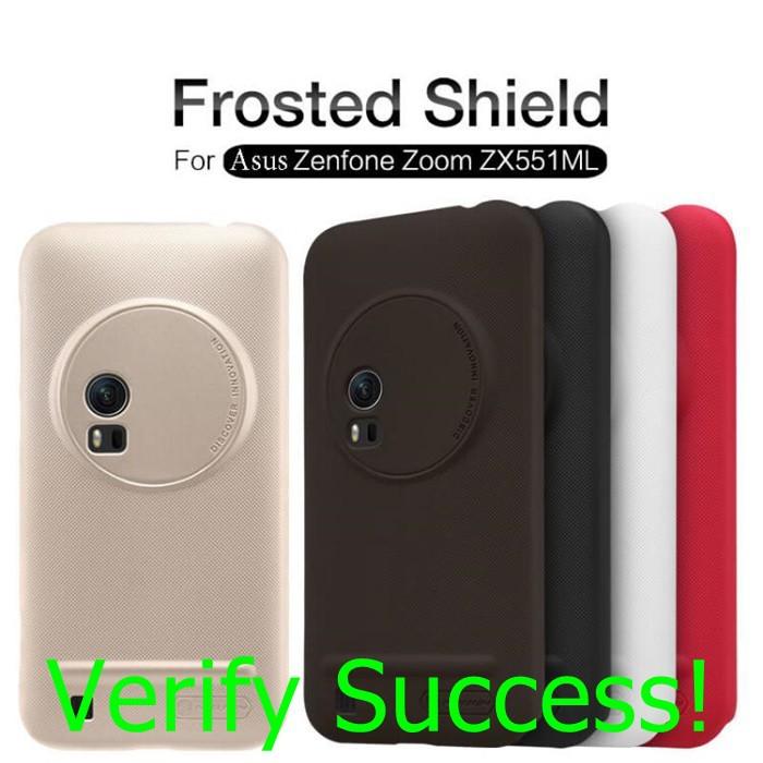 official photos 6a788 e81dd ORIGINAL Nillkin Frosted Shield Matte case Asus Zenfone Zoom ZX551ML