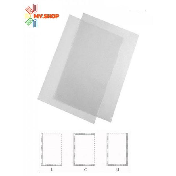 Clear Transparent U shape, C Shape, L Shape A4 Paper Folder / Holder / File