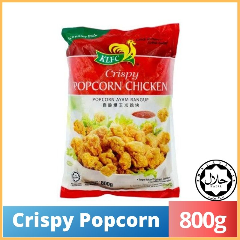 KLFC Crispy Popcorn Chicken 800g