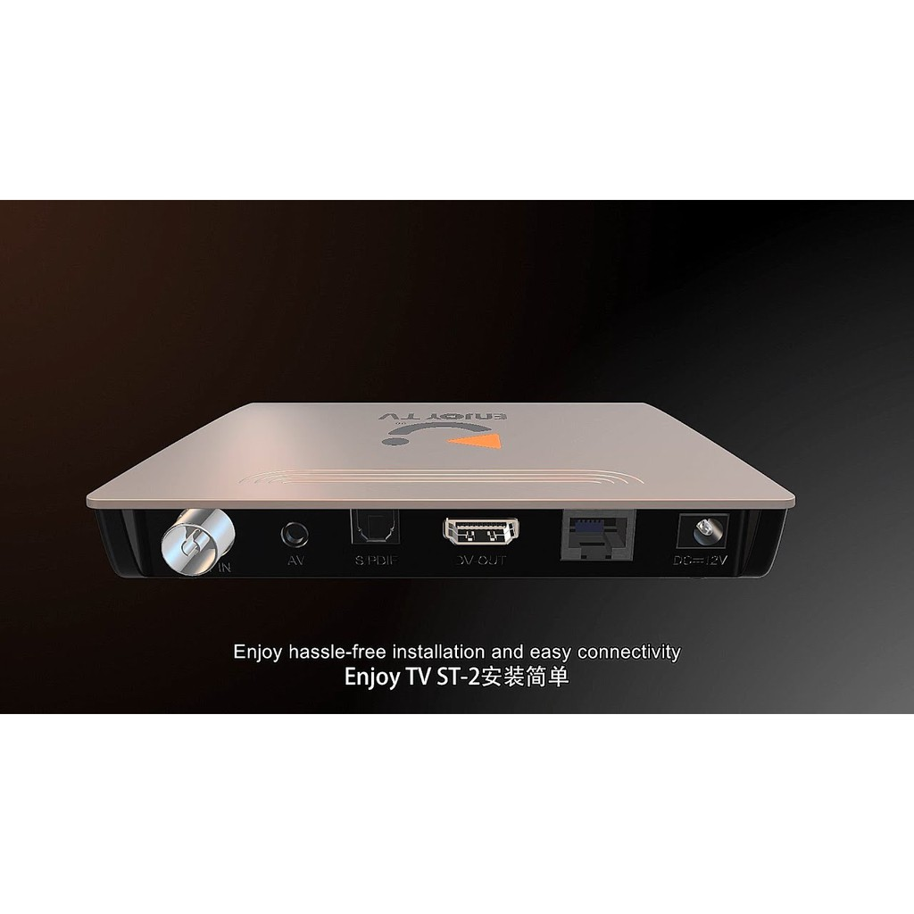 Legal TV Box with DTTV Malaysia 2 IN 1 (MADE IN MALAYSIA)
