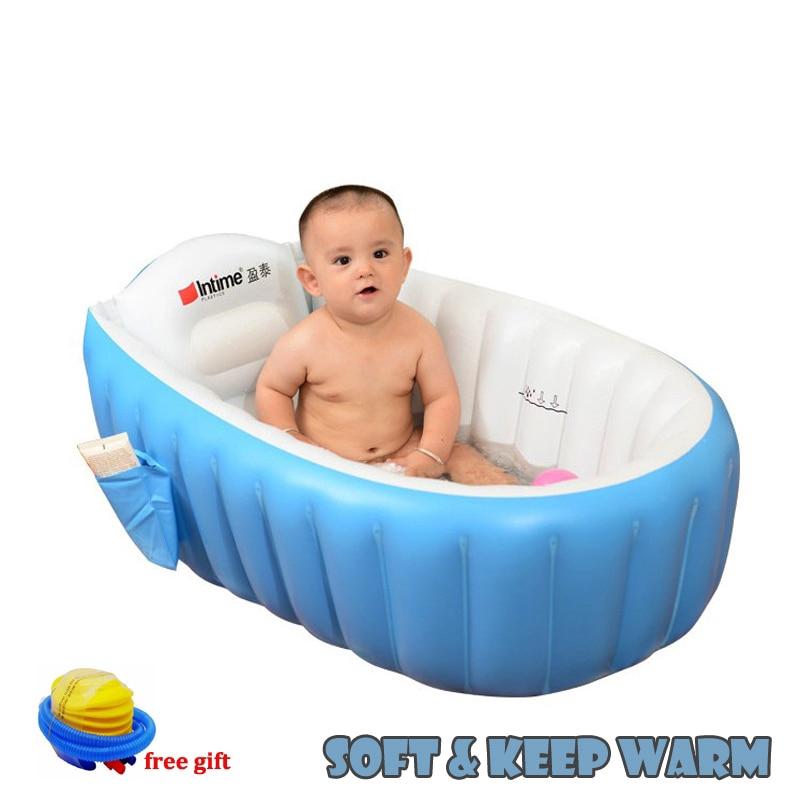 Magic Bath Baby Jacuzzi.Portable Bathtub Inflatable Bath Tub Child Tub Cushion Warm Winner Keep Warm Folding Portable Bathtub With Air Pump