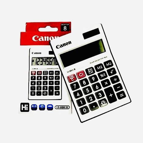 CANON Calculator with Dual Way Power LS88HI III