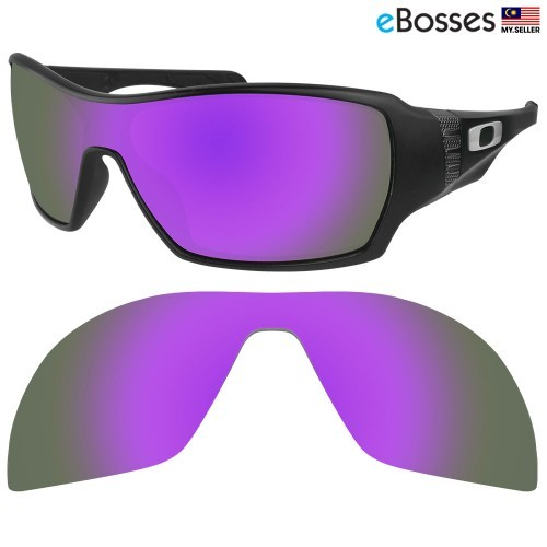 0f516adc0f eBosses Polarized Replacement Lenses for Oakley Fuel Cell - Ice Blue ...