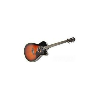 Yamaha AC1R 41 Concert Solid Sitka Spruce Top Acoustic Guitar