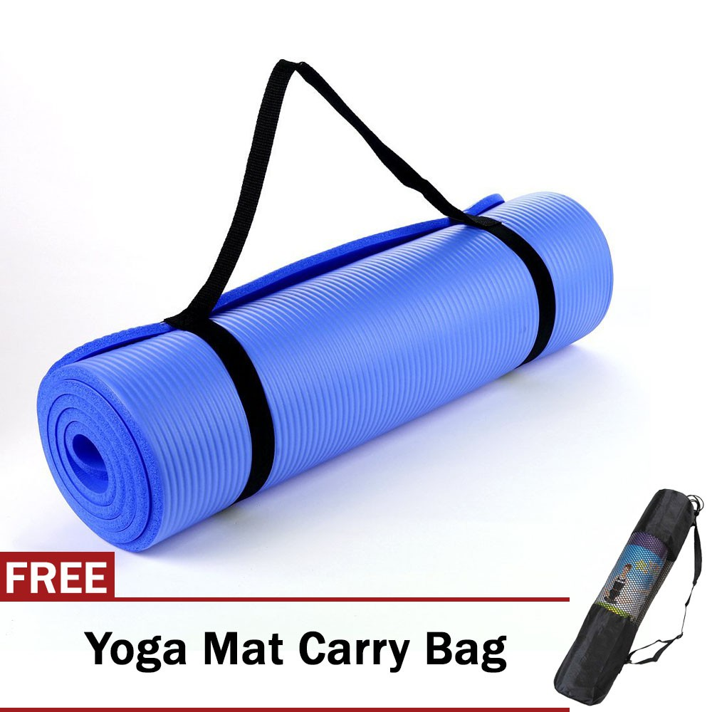 NBR Anti-Slip Thick Yoga Mat Health Lose Weight Exercise