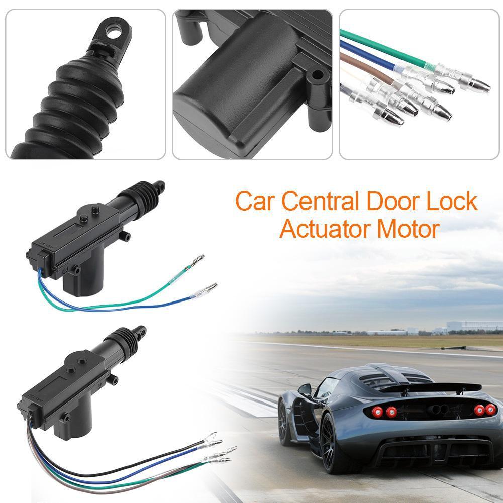 Portable 12V Car Locking System Single Gun Type Central Door Lock Actuator  Motor{WN}