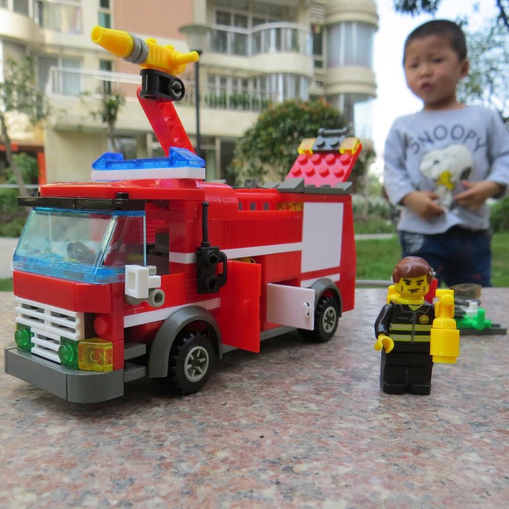 เลโก้รถดับเพลิง ของเล่นเด็
