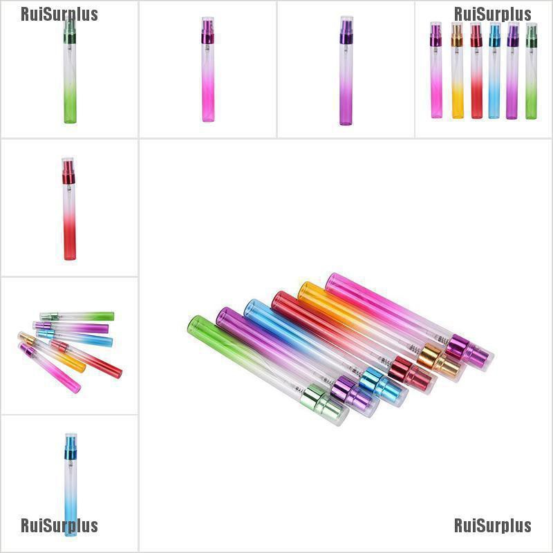 RuiSurplus❥ 1 Pcs Glass Perfume Spray Bottles Atomizer Refillable Empty 10Ml