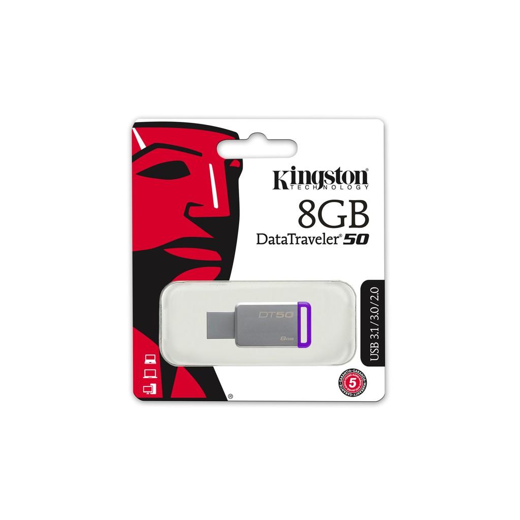 Kingston 8GB DataTraveler 50 USB 3.0 Flash Drive G3