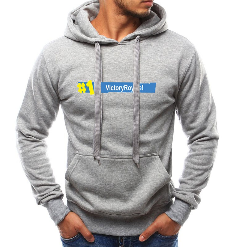 Hot Game Fortnite Hoodies Men Battle Royale Funny Hooded Sweatshirt Tracksuit