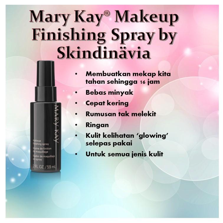 Does Mary Kay Makeup Finishing Spray