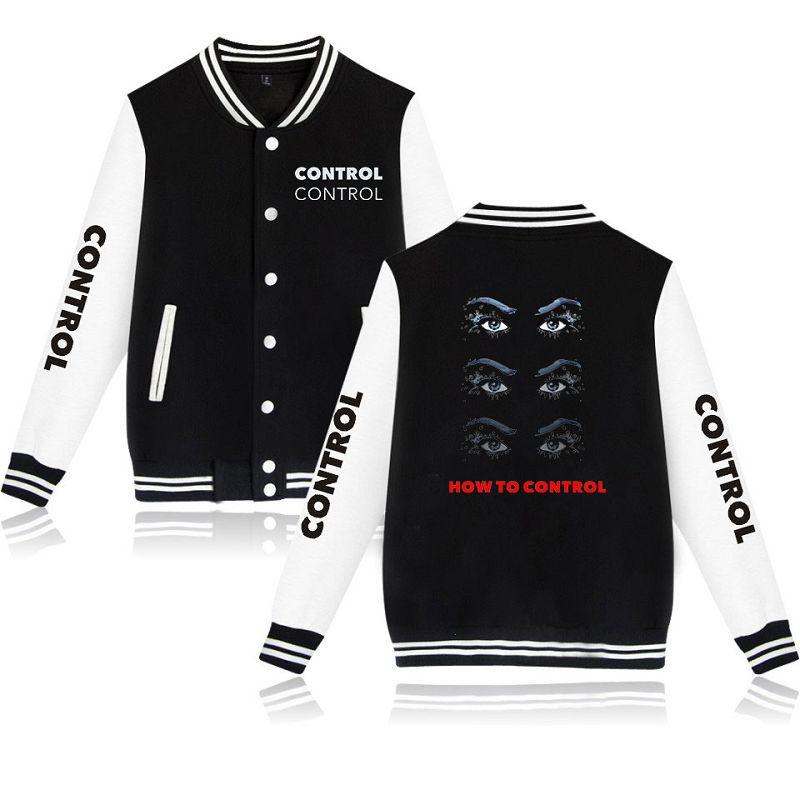 b372a82156056 Never Be The Same Tour-Camila Cabello Unisex Baseball Jacket Cotton  Outerwear