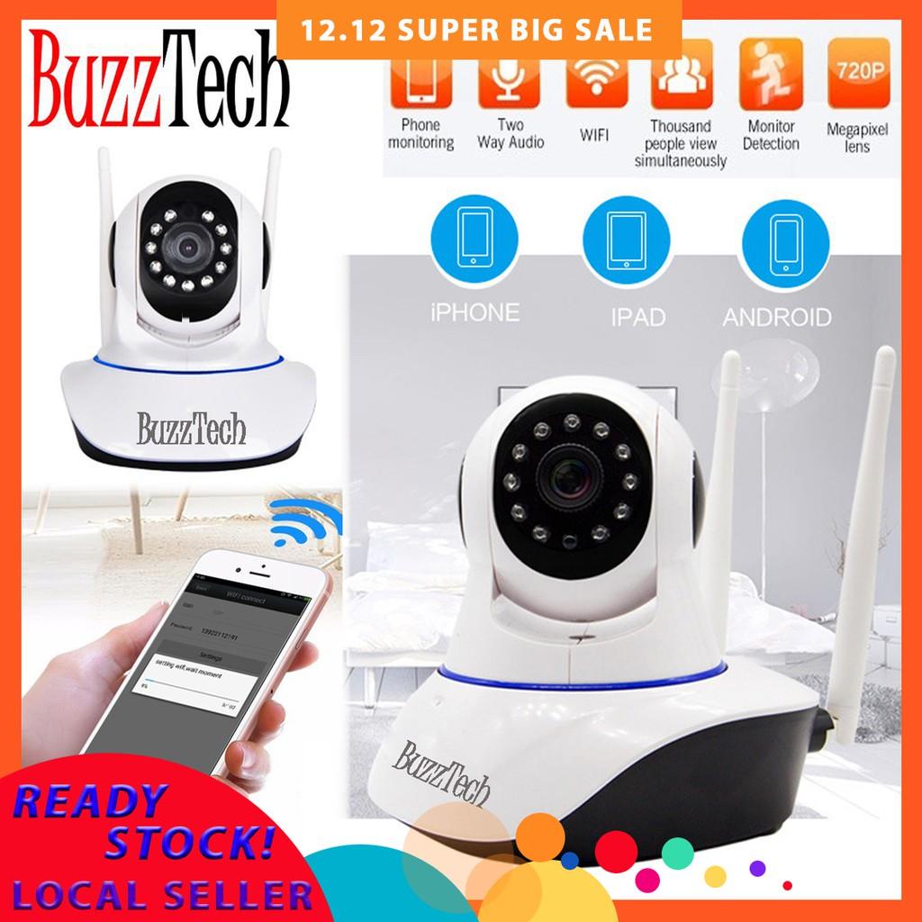 BuzzTech ICSEE Smart 720P HD Wireless CCTV IP Camera Cam Baby Monitor Camera
