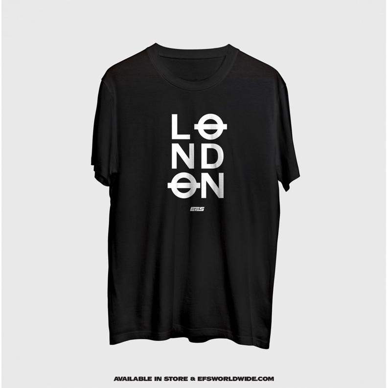 [ New Arrival ] T-shirt London City 100% Super Cotton