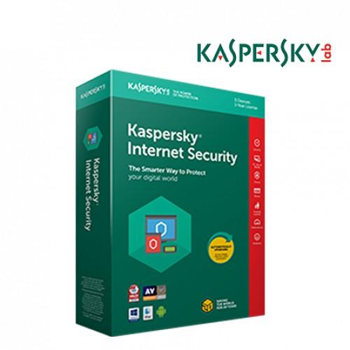 Kaspersky Internet Security Antivirus 3 Device PC 1 Year