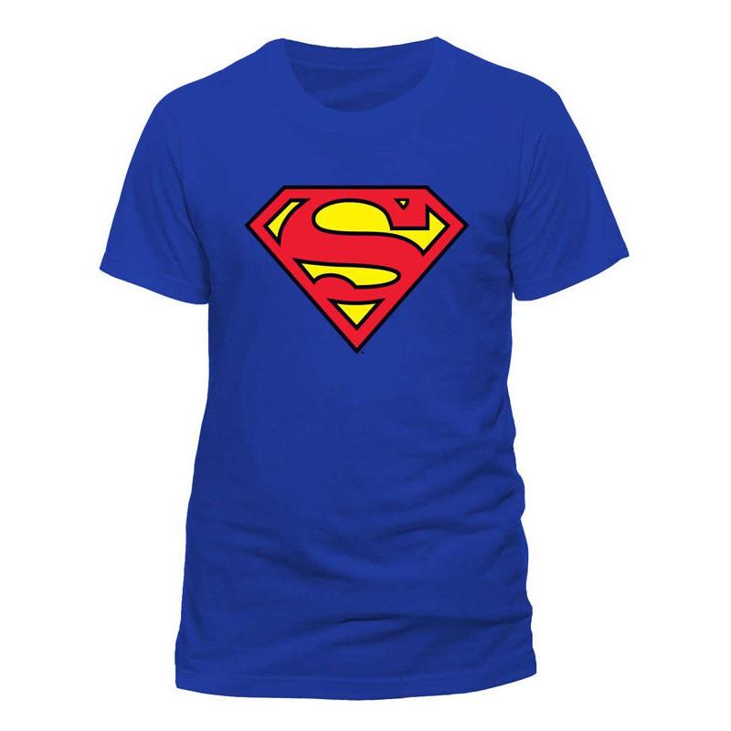 Justice League Logo Superhero Crest Dc Comics T Shirt Causal Men