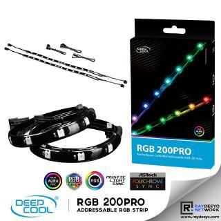 promo code e654f de829 Deepcool RGB 200 Pro Magnetic & Double-faced adhesive LED Strip  [Addressable RGB LED Strip]