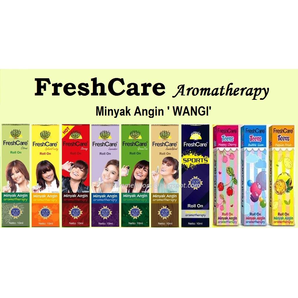 Freshcare Shopee Malaysia Roll On Hot Minyak Angin 10 Ml 4 Botol