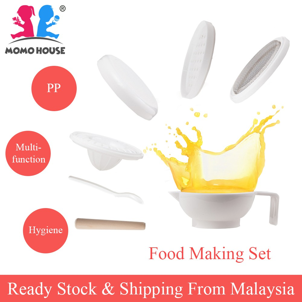 Baby Food Maker Masher Multi Functional Grinding Making Set