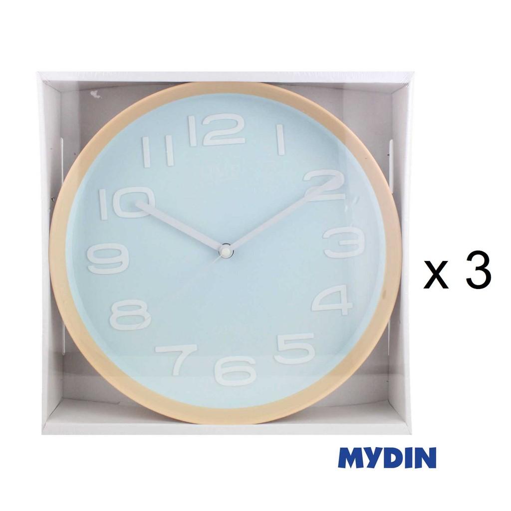 Time Wall Clock 190452 - 12inch (3 Pcs)