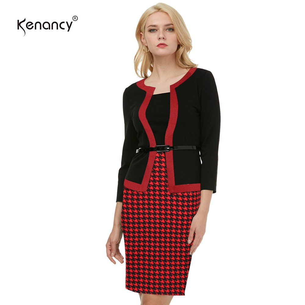 Kenancy Sexy Sequins Crochet Butterfly Lace pencil Dress  4bec2fe82aff