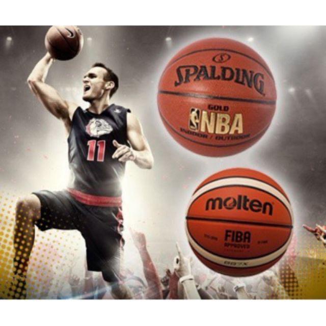 [ReadyStock] Molten/Spalding Basket Ball GF7X Bola Molten GF7X