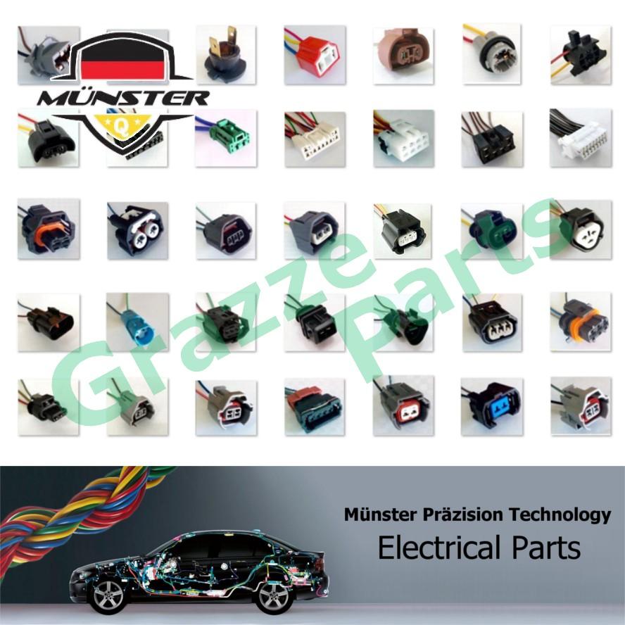 Münster 2-Pin Hb3 (9005) Halogen Bulb Holder Socket AMO013 Perodua Myvi Lagi Best Myvi Icon