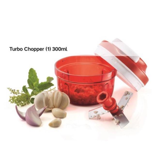 🎁FREEGIFT🎁Tupperware Turbo Chopper 300ml