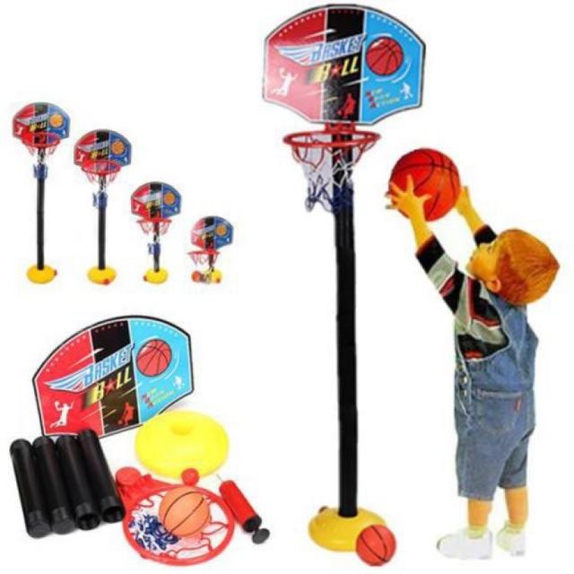 แป้นบาสเกตบอลเด็ก ครบชุด Super Sport Set - Baske
