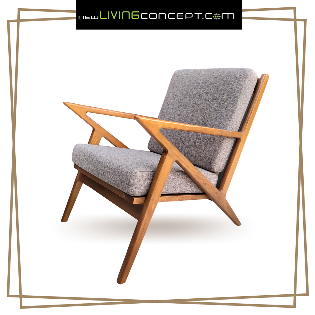 Solid Wood Lounge Chair Relaxing, Lounge Chairs With Wooden Arms