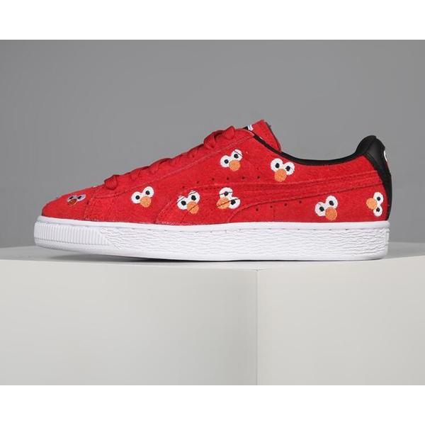 Puma x Sesame Street Suede Red  498926d46