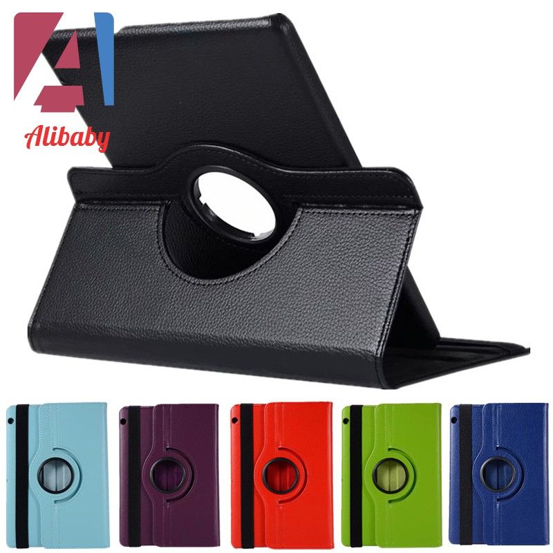 For Huawei MediaPad T5 360Rotating Case PU Tablet Stand Anti-Shock Cover 10.1/'/'