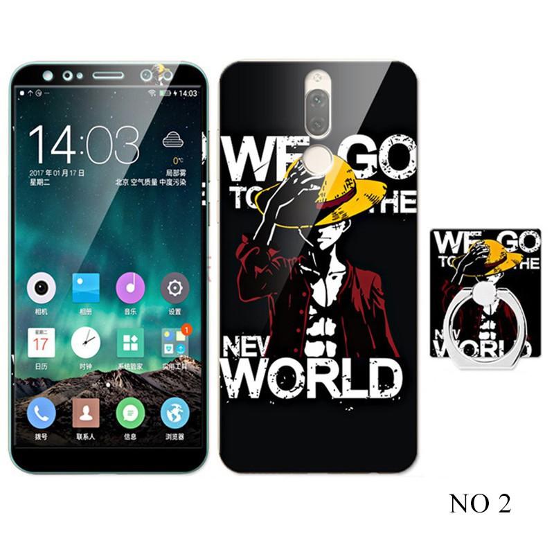 (AnnieAnn)Huawei Nova2i  Nova3i Cartoon TPU Soft Phone เคส Sets with Ring H
