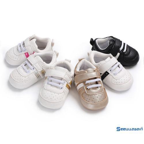 27b2d86719d30 ✡KH-2018 Hot fashion Stylish Toddler Infant Baby Boy Girl Soft Sole Crib  Shoes