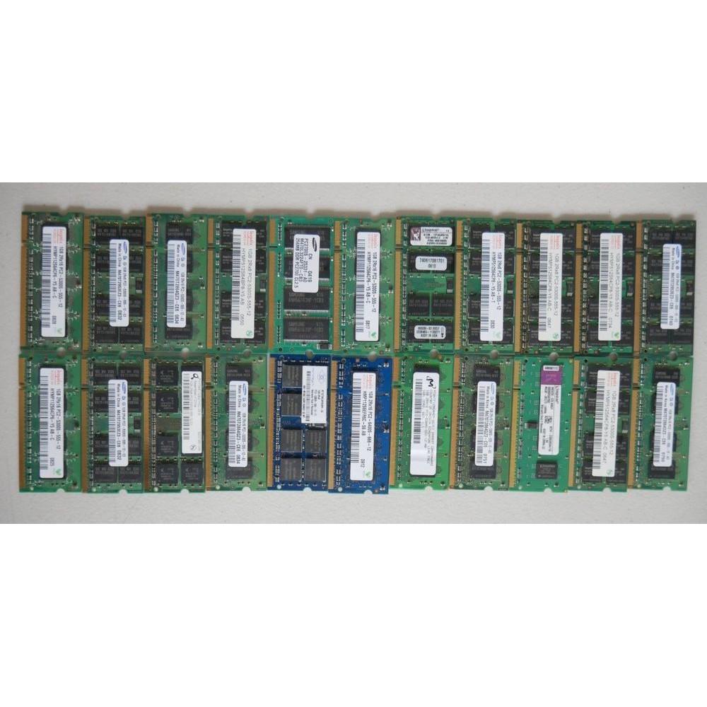 USED Ram DDR2 1 GB/2 GB desktop Ram (mix brand) (mix spec)