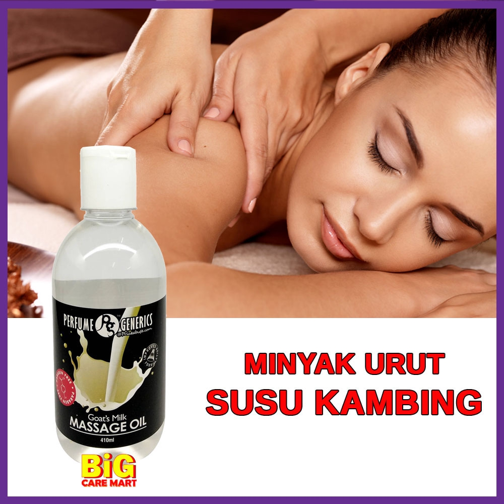 PG Massage Oil Goat\'s Milk 410ml